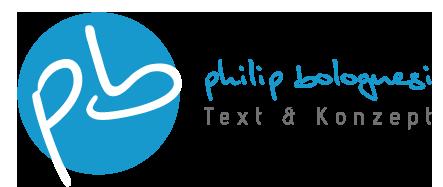 Philip Bolognesi | Text & Konzept | Hannover